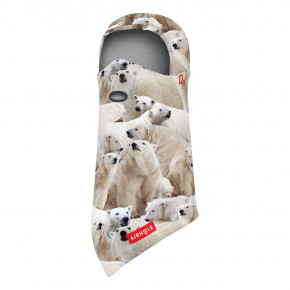 Go to the product Balaclava Airhole Junior Balaclava Polar Fleece polar bears 2020/2021