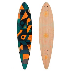Go to the product Longboard deck Goldcoast Orbit Pintail 2016
