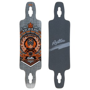 Go to the product Longboard deck Restless Splinter 38 Fiberlam 2017