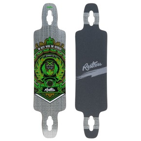 Go to the product Longboard deck Restless Splinter 40 Fiberlam crest 2017