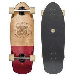 Go to the product Longboard Globe Stubby half dip natural/red 2017