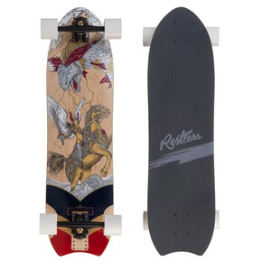 Go to the product Longboard Restless Nkd warrior 2017