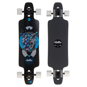 Go to the product Longboard Restless Splinter 38 Fiberlam owl 2017