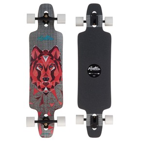 Go to the product Longboard Restless Splinter 38 Fiberlam wolf 2017