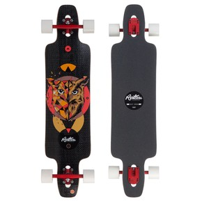 Go to the product Longboard Restless Splinter 40 Fiberlam owl 2017