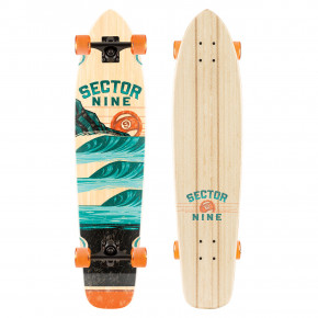"Go to the product Longboard Sector 9 Stacked Strand 34"" 2018"