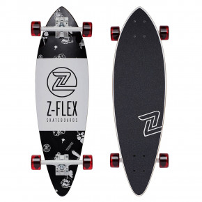 "Go to the product Longboard Z-Flex Mini-Pintail 32"" rolling bones 2018"