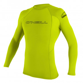 Go to the product Lycra O'Neill Basic Skins L/s Rash Guard lime 2020