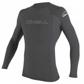 Przejść do produktu Lycra O'Neill Basic Skins L/s Rash Guard smoke 2019