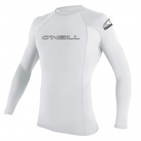 Go to the product Lycra O'Neill Basic Skins L/s Rash Guard white 2019