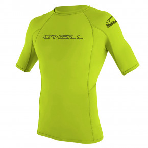 Go to the product Lycra O'Neill Basic Skins S/s Rash Guard lime 2019
