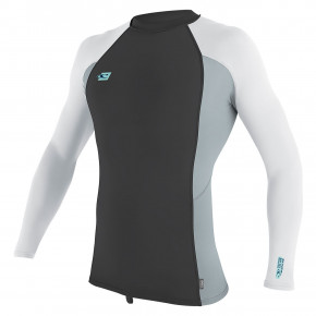 Přejít na produkt Lycra O'Neill Premium Skins L/s Rash Guard midnight oil/cool grey/white 2019