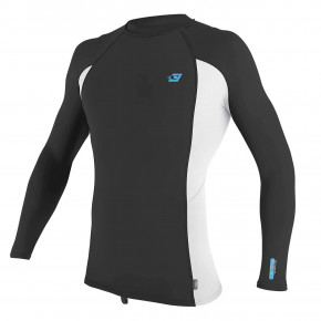 Go to the product Lycra O'Neill Premium Skins L/S Rash Guard raven/white/raven 2020