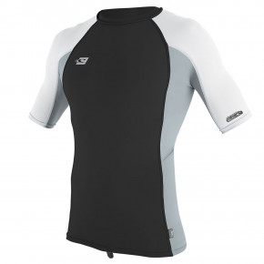 Přejít na produkt Lycra O'Neill Premium Skins S/s Rash Guard midnight oil/cool grey/white 2019