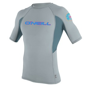 Přejít na produkt Lycra O'Neill Skins Graphic S/s Crew cool grey/dusty blue/cool grey 2017