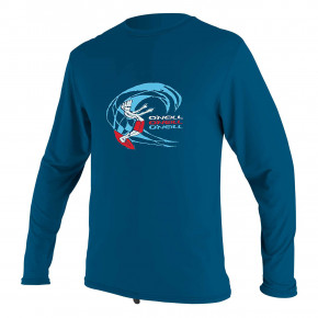 Go to the product Lycra O'Neill Toddler O'zone L/S Sun Shirt Boy ultra blue 2020