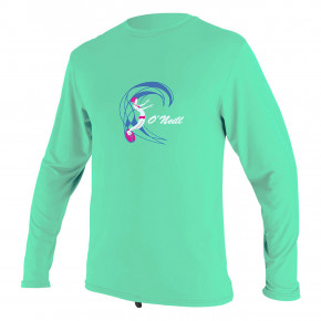 Go to the product Lycra O'Neill Toddler O'zone L/S Sun Shirt Gir light aqua 2020