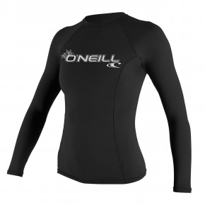 Go to the product Lycra O'Neill Wms Basic Skins L/s Rash black 2019