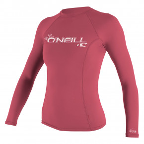 Go to the product Lycra O'Neill Wms Basic Skins L/s Rash fox pink 2019