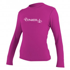 Go to the product Lycra O'Neill Wms Basic Skins L/S Sun Shirt fox pink 2020