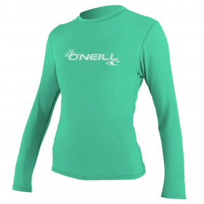 Go to the product Lycra O'Neill Wms Basic Skins L/s Sun Shirt seaglass 2019