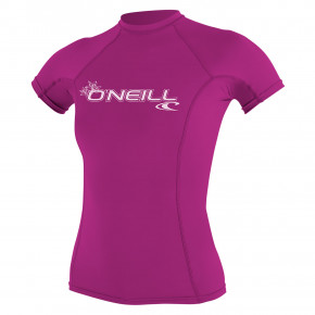 Go to the product Lycra O'Neill Wms Basic Skins S/s Rash fox pink 2019