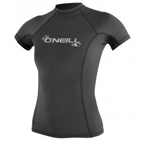 Go to the product Lycra O'Neill Wms Basic Skins S/s Rash graphite 2019