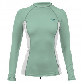Przejść do produktu Lycra O'Neill Wms Premium Skins L/s Rash fresh mint/white/fresh mint 2019