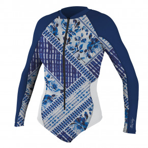 Go to the product Lycra O'Neill Wms Premium Skins L/S Surf Suit indigo patch/navy/white 2018