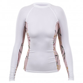 Go to the product Lycra O'Neill Wms Side Print L/s Rash white/claris floral 2019