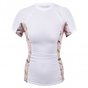 Go to the product Lycra O'Neill Wms Side Print S/s Rash white/claris floral 2019