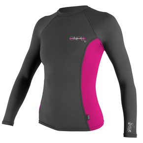 Go to the product Lycra O'Neill Wms Skins L/s Crew graphite/berry/graphite 2017
