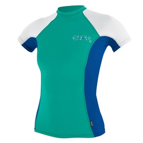 Go to the product Lycra O'Neill Wms Skins S/s Crew baltic green/ultramarine/white 2017