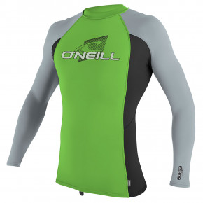 Go to the product Lycra O'Neill Youth Premium Skins L/s Rash dayglo/black/dayglo 2019