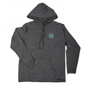 Go to the product Lycra Ronix Uv Quick Dry Hoodie heather grey/mint 2019