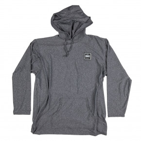 Go to the product Lycra Ronix UV Quick Dry Hoodie heather grey/wihte 2018
