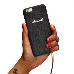Go to the product iPhone case Marshall Phonecase Iphone 6+ black 2017