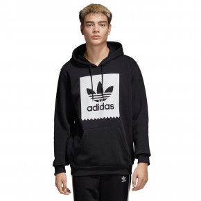Go to the product Hoodie Adidas Solid BB Hood black/white 2019