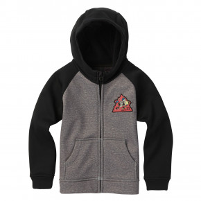 Přejít na produkt Burton Boys Crown Bonded FZ monument heather/black 2018/2019