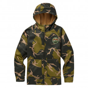 Go to the product Tech Hoodie Burton Boys Crown Bonded FZ mtn camo 2018/2019