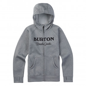 Go to the product Hoodie Burton Boys Oak Full-Zip monument heather 2018