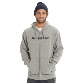 Go to the product Hoodie Burton Horizontal Mountain FZ grey heather 2018/2019