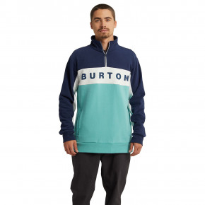 Go to the product Hoodie Burton Lowball 1/4 Zip dress blue/buoy blue 2020
