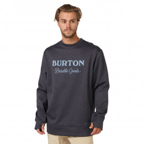 Go to the product Hoodie Burton Oak Crew true black heather 2018