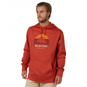 Go to the product Hoodie Burton Oak Pullover bossa nova heather 2018