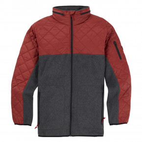 Přejít na produkt Burton Pierce Fleece sparrow/true black heather 2018/2019
