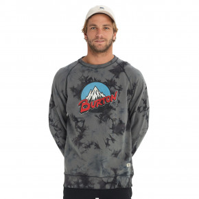 Go to the product Hoodie Burton Retro Mountain Organic Crew phantom tie dye 2018/2019