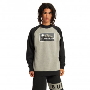 Go to the product Hoodie Burton Vista Crew grey heather 2020