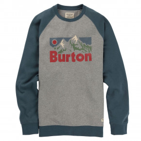 Przejść do produktu Bluza Burton Vista Crew grey heather 2019