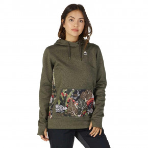 Go to the product Hoodie Burton Wms Oak Pullover forest night heather 2018